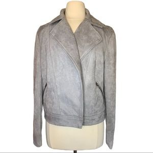 Philosophy Rep. Faux Leather Grey Jacket S…